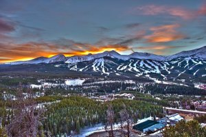 Winter RV campgrounds in the Colorado Rockies