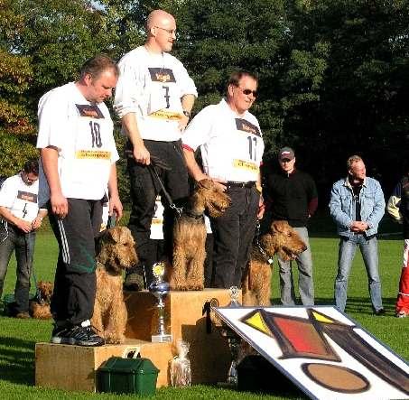 KLSP 2007 in Dorsten Sieger Frank Fischer mit Leo 2. Sieger Uwe Skrypczak mit Kronos