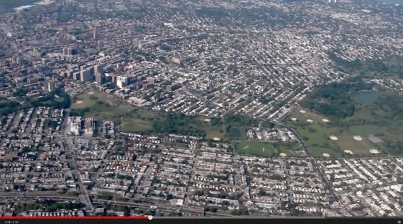 20120913.. 'Flight Over Flushing', (KLGA Whitestone Climb at approx. 5PM), screencap at time1.19