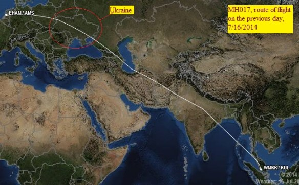 20140717.. MH17 route, sat.view for previous day