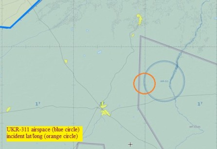 20140717.. UKR-311 airspace on World VFR Chart