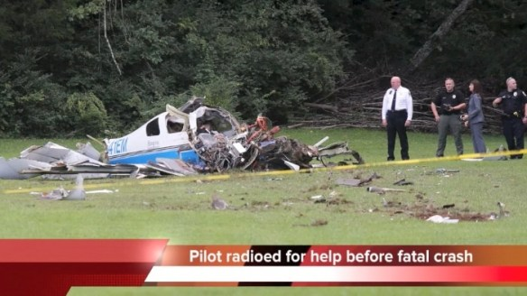 20140903.. Lancair crash pic, Collegedale, TN