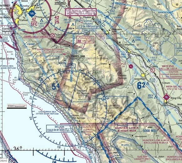 20161008scp-soberanes-fire-area-map-lucia-n-to-pacific-grove-e-to-king-city-flightaware-vfr-sectional-view