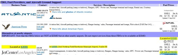 ksmo-20160917scp-fbo-info-listing-atlantic-american-flyer-at-ksmo-listing-jetcenter-at-khhr-as-a-nearby-alternate-flightaware