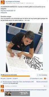 CALIGRAFÍA: Alessandra Barocco