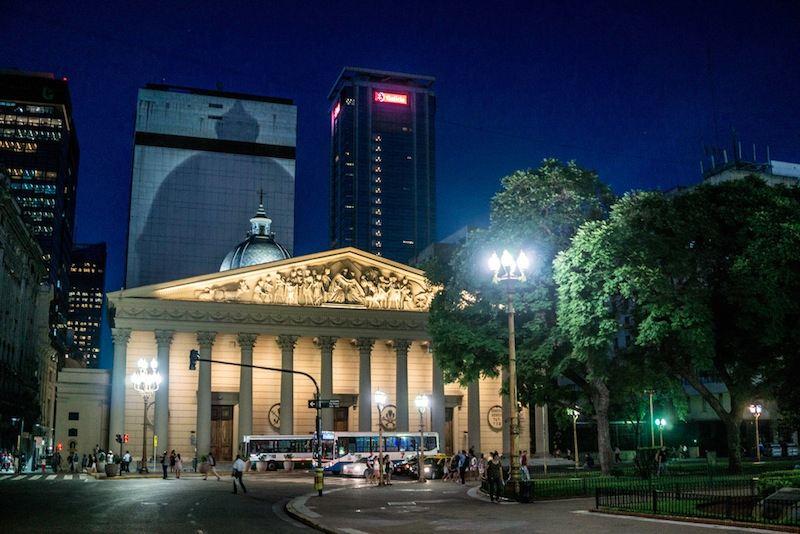 city tour noturno em buenos aires