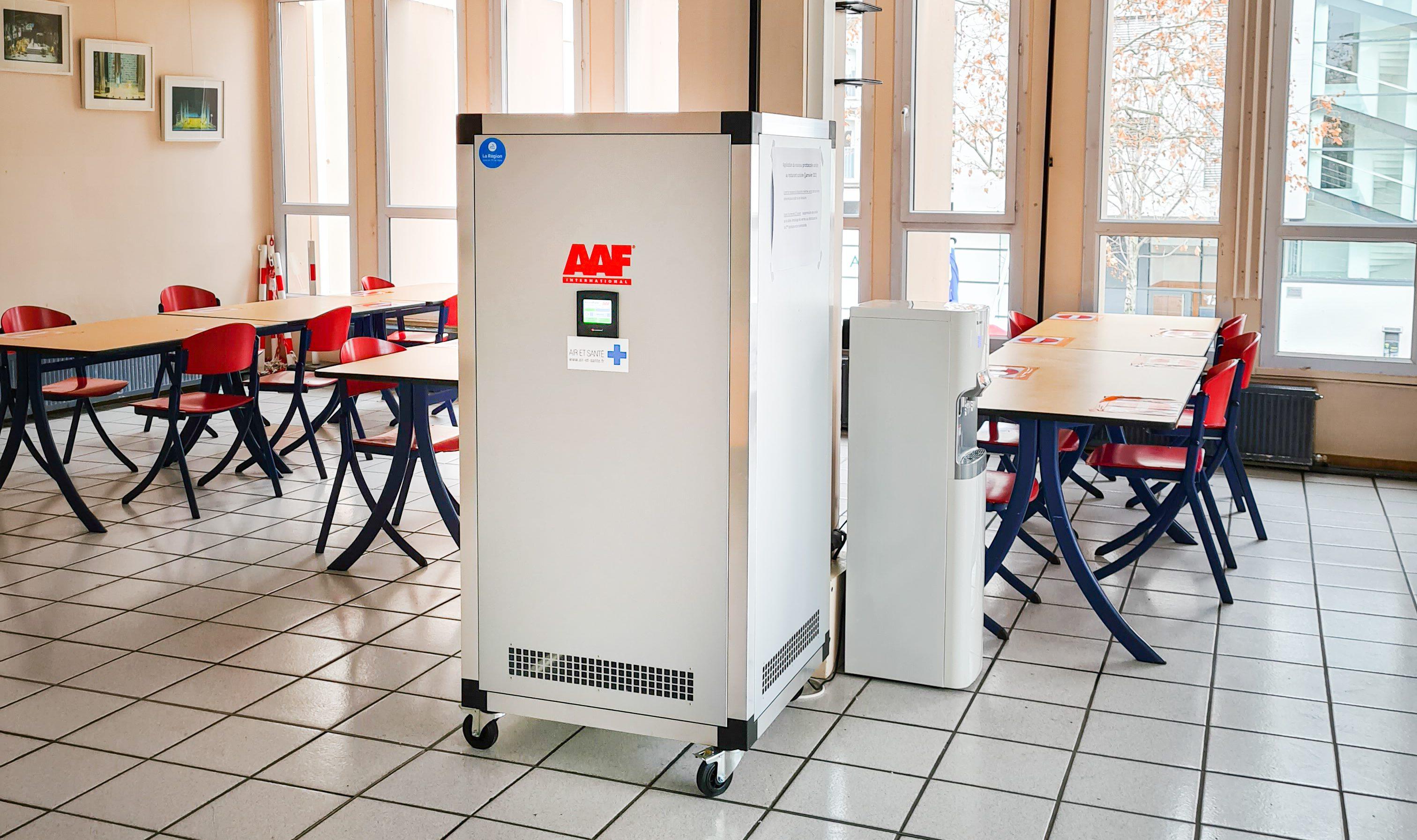 La filtration absolue AAF, une solution qui répond aux besoins de la restauration collective de la région AuRA.