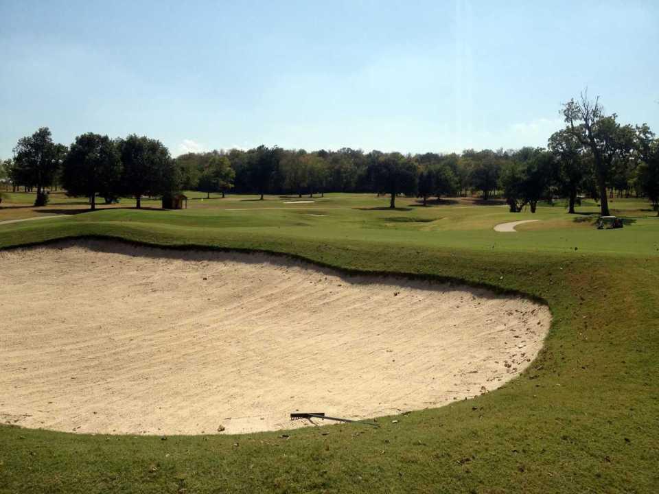 Golf Bunker Drainage Installed Hard Rock Casino Airfield