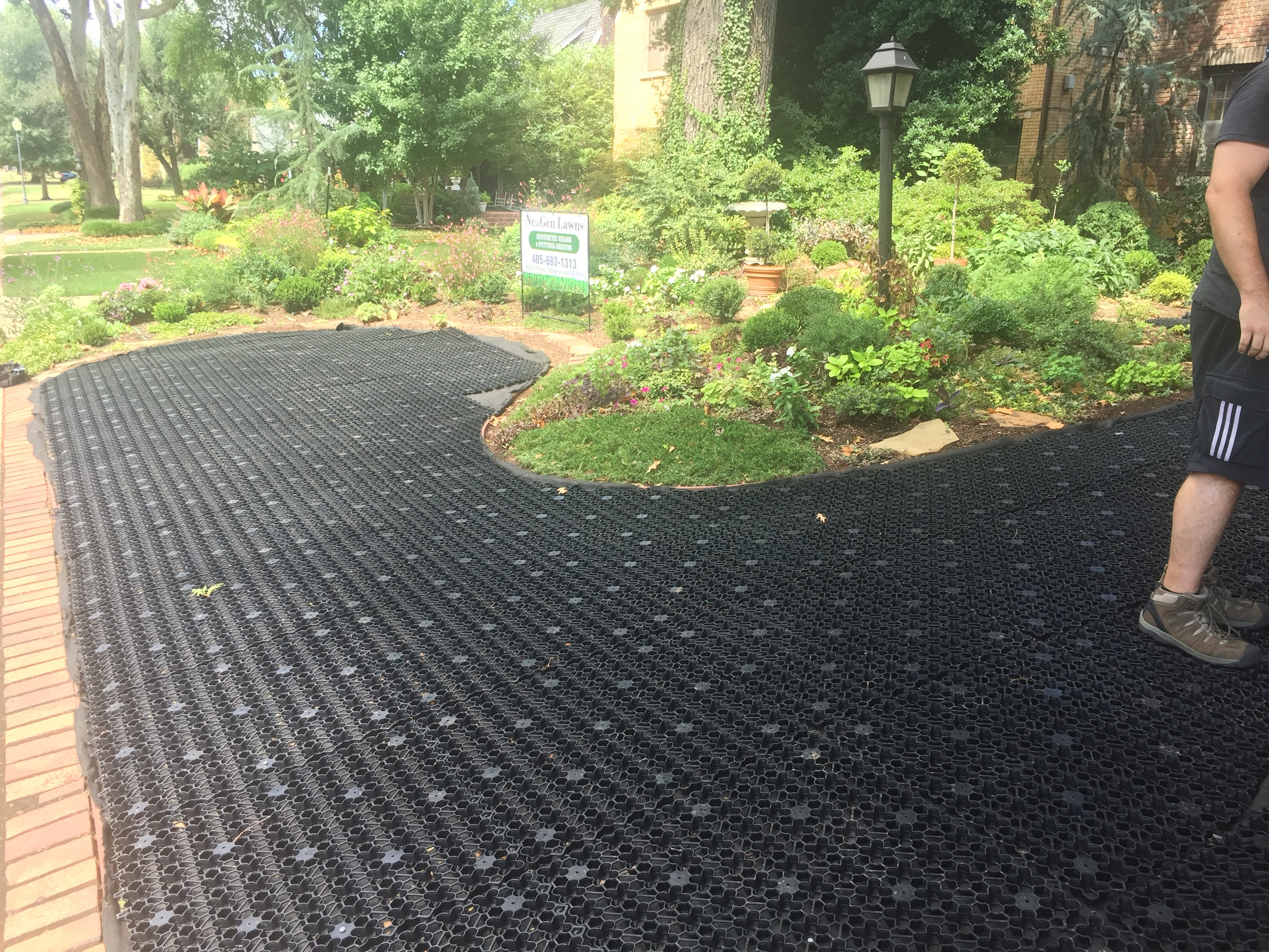 airdrain drainage for synthetic turf keep your grass green all