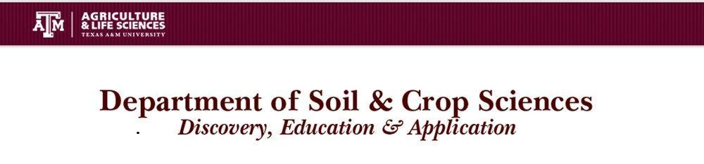 Texas A&M Dept of Soil and Crop Sciences