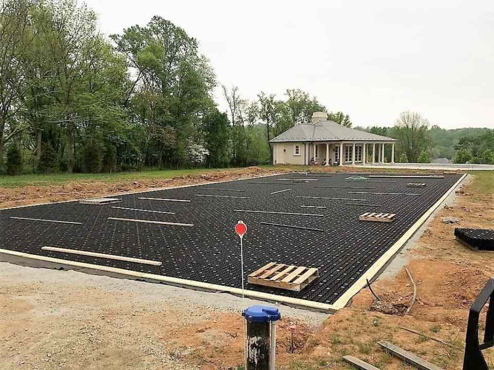 Airdrain Synthetic Grass Drainage For Nj Soccer Field