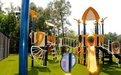 AirDrain, Drainage, playground drainage, artificial turf, synthetic turf, shock pad,