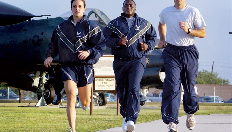 Air Force Fitness Running