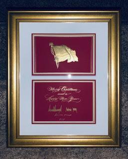 2019 White House Christmas Card - Signed Image