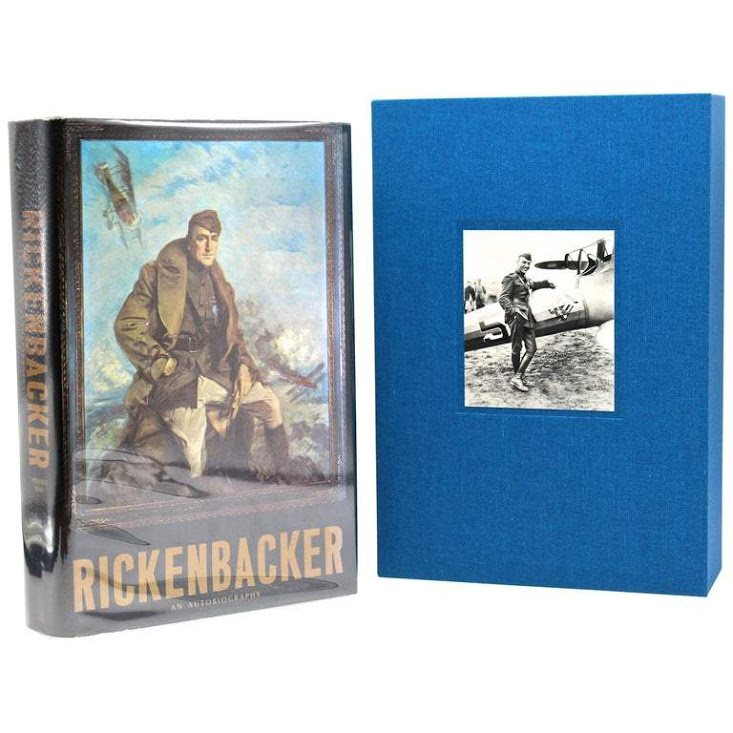 Rickenbacker: An Autobiography, Signed and Inscribed by Eddie Rickenbacker, Third Printing, 1967 Image