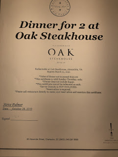 Dinner for 2 at Oak House-Alexandria Image