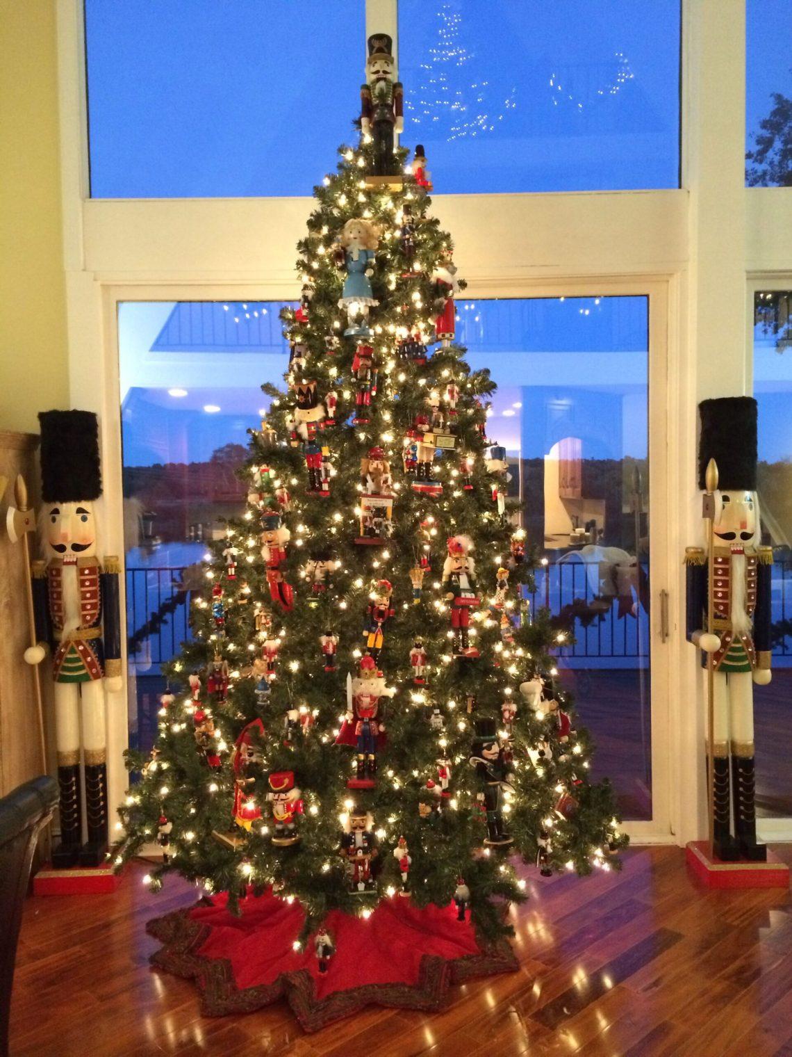Nutcracker Themed Christmas Tree Image