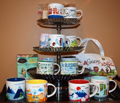 Starbucks Mugs and Bistro Supplies from around the World Image