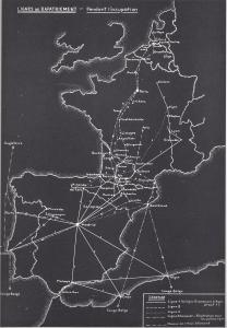 Lignes de Rapatriement -- Pendant l'occupation. Belgian Ministry of Defense