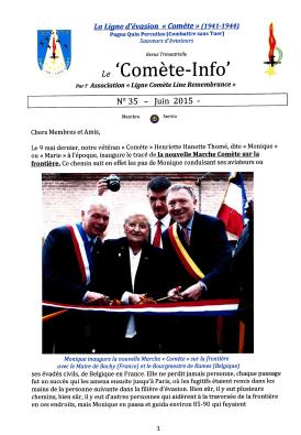 Comet Line June 2015 newsletter full 8 pages0001