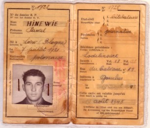 False ID made for T/Sgt Chet Hincewicz, USAAF, of Scranton, PA from Ed Reniere