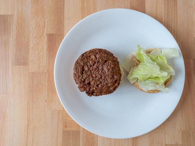 Beyond Burger 2020 reformulation air fried