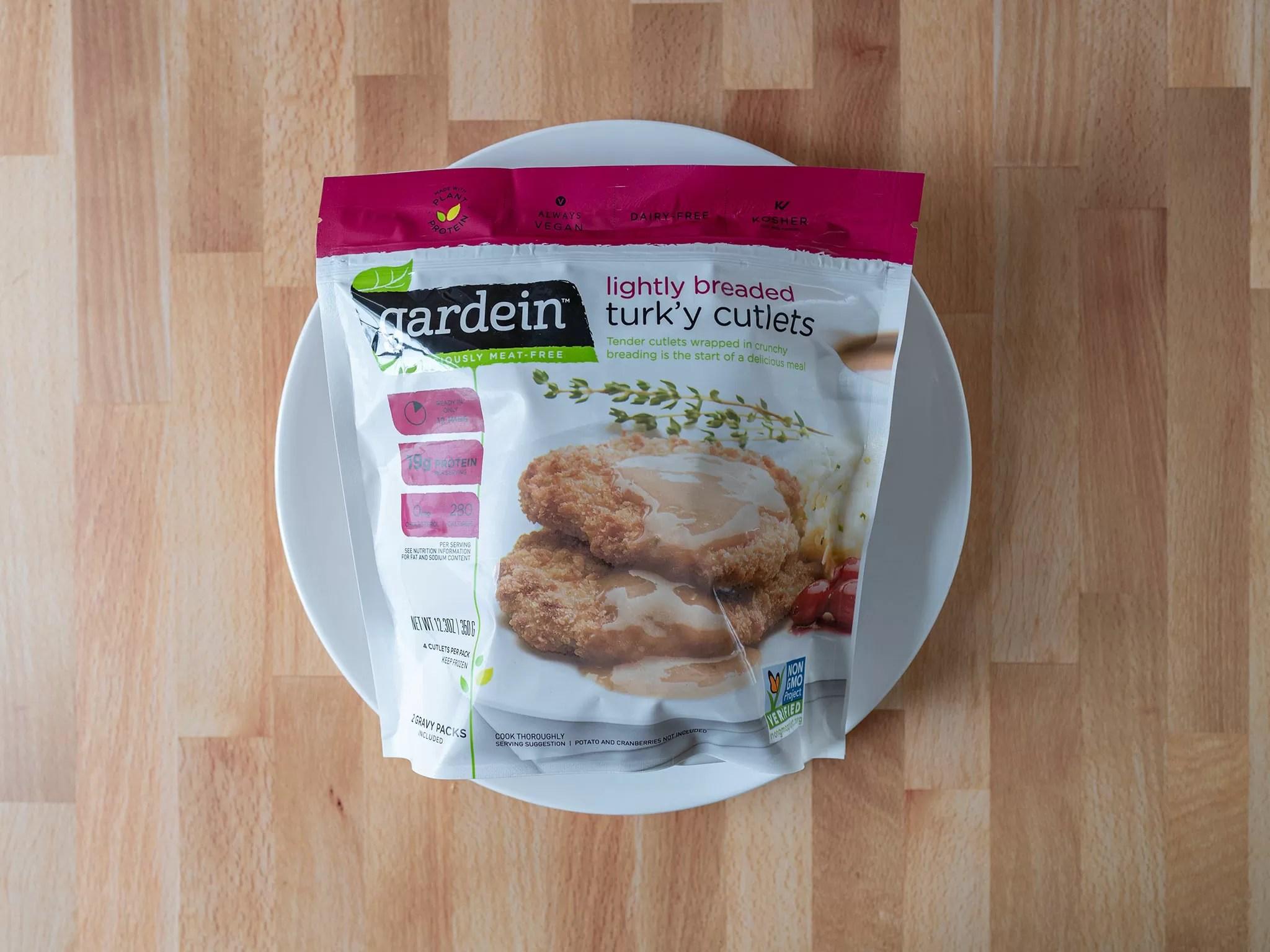 Gardein Lightly Breaded Turk'y Cutlets 2020