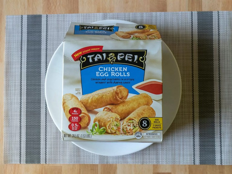 How to cook Tai Pei Chicken Egg Rolls in an air fryer