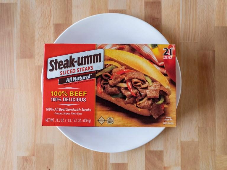 How to air fry Steak-umm Sliced Steaks