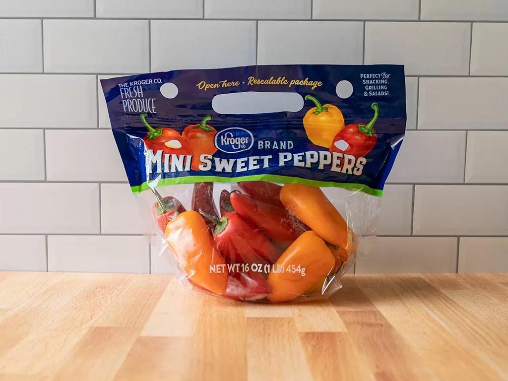 Kroger sweet mini peppers
