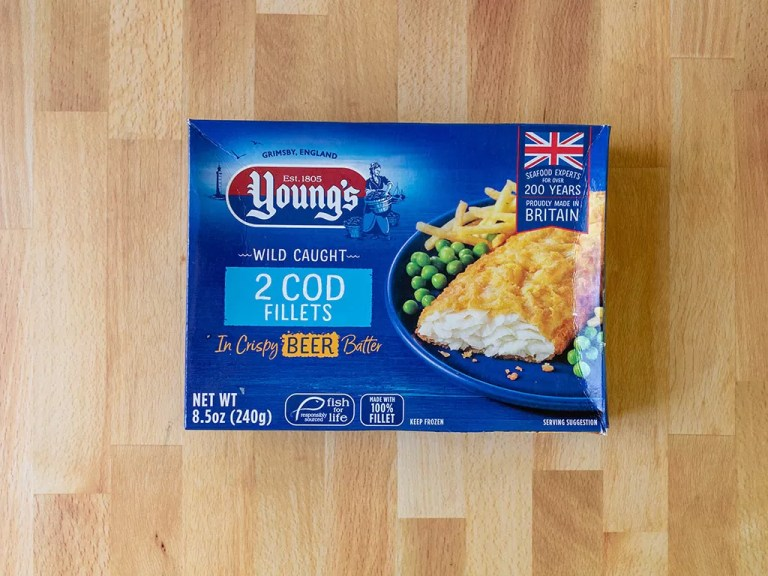 How to cook Young's Beer Battered Cod Fillets in an air fryer