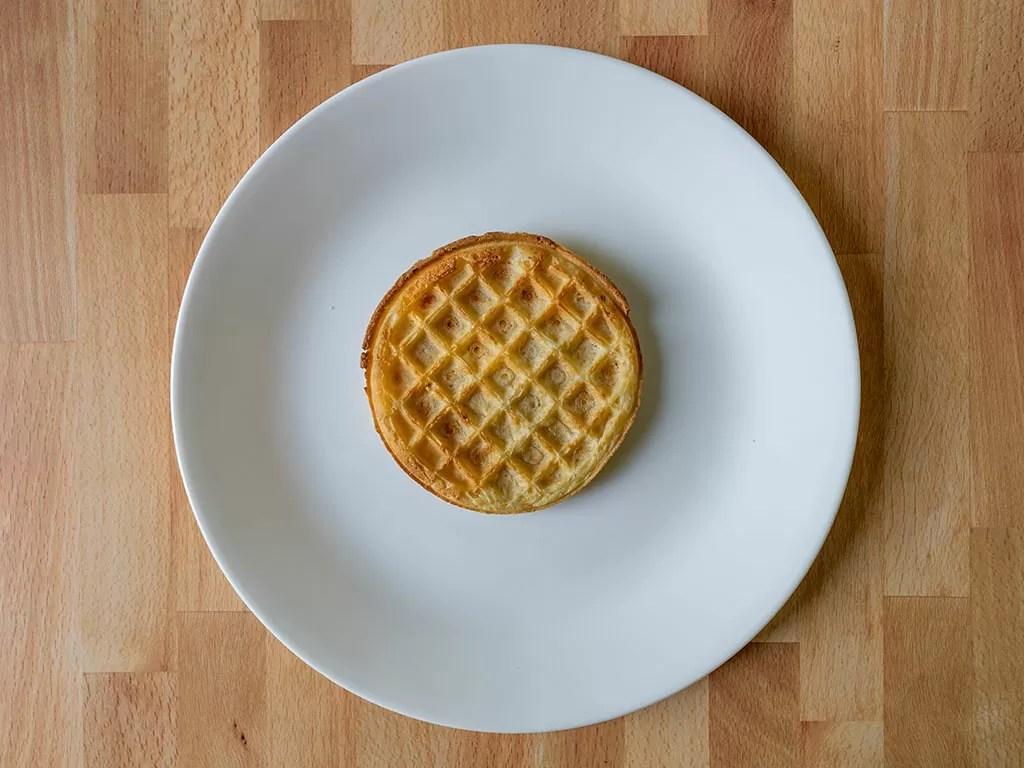 Air fried Eggo Homestyle Waffles