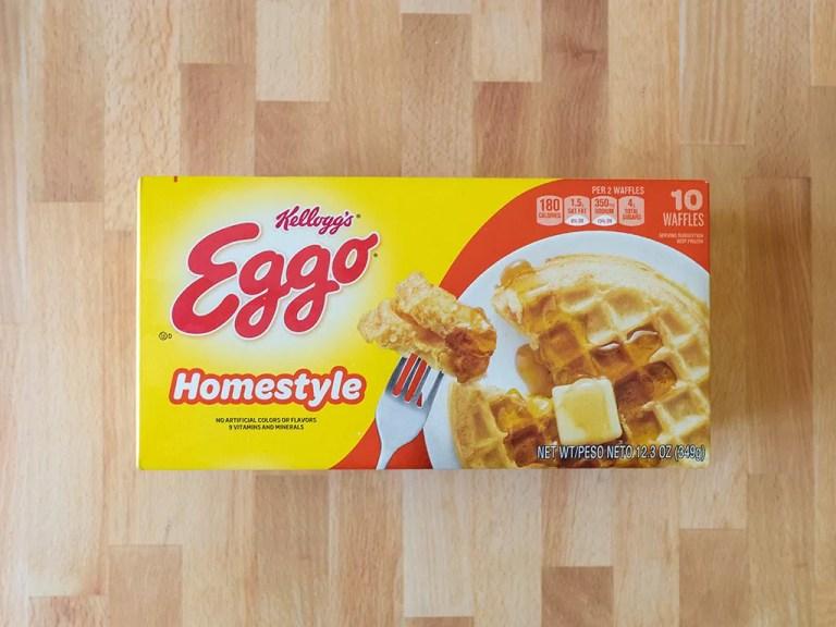 How to cook Eggo waffles using an air fryer