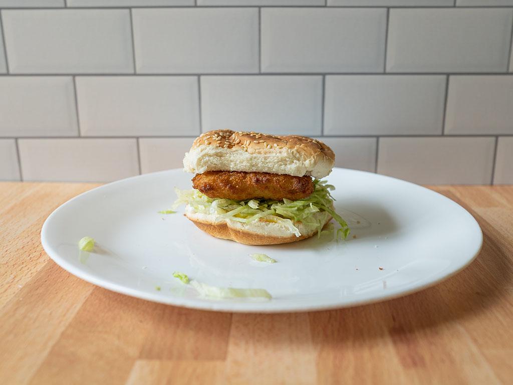 Air fried Gorton's Fish Sandwich