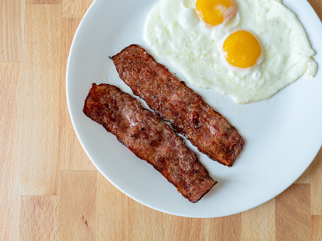 Air fried Johnsonville Sausage Strips