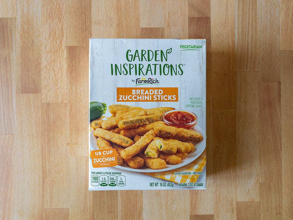Garden Inspirations Breaded Zucchini Sticks