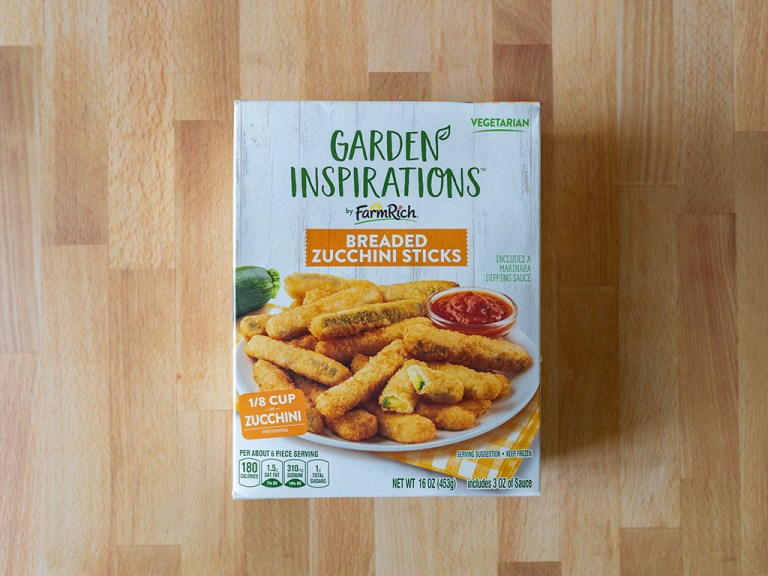 How to air fry Garden Inspirations Breaded Zucchini Sticks