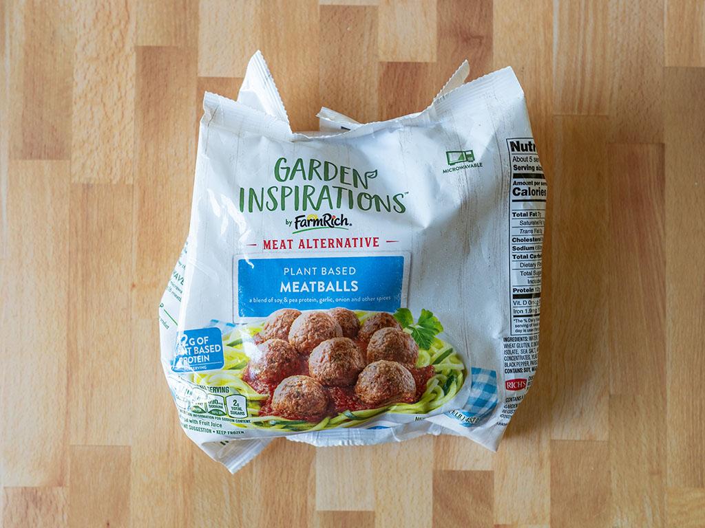 Garden Inspirations Plant Based Meatballs