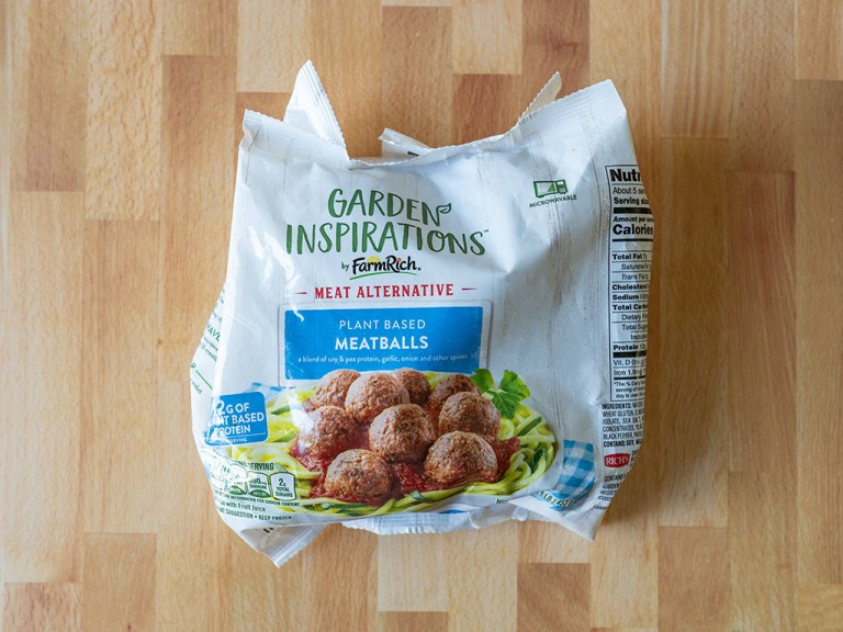 How to air fry Garden Inspirations Plant Based Meatballs