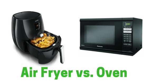 Air fryer vs. Oven