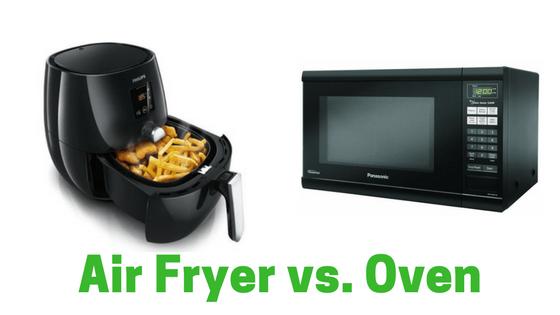 Air fryer vs. Oven