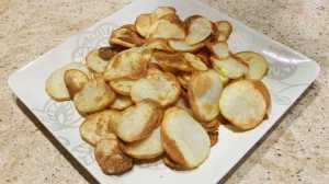 potatoe chips air fried