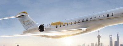 Bombardier Global 7500 Tour