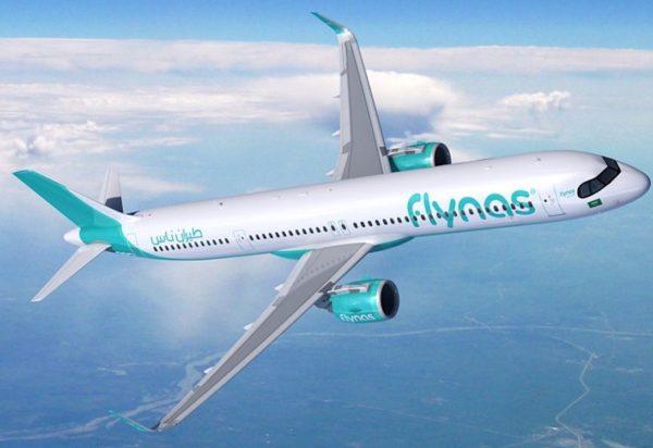 FLYNAS in Saudi Arabia orders 10 A321XLR