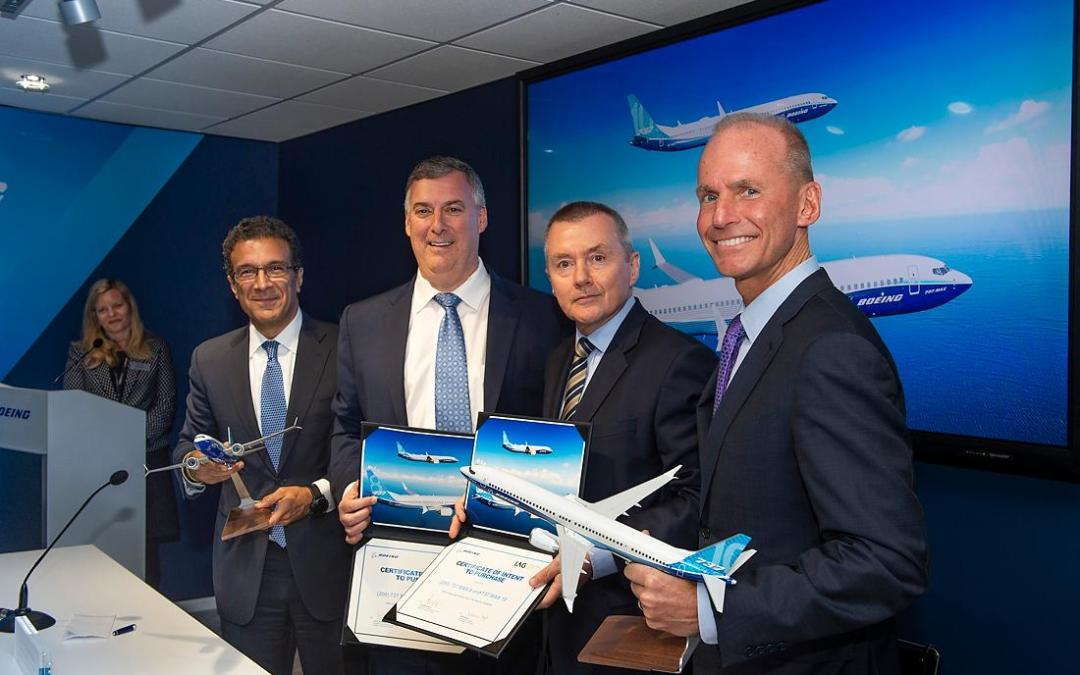 Boeing in Paris: down but not out