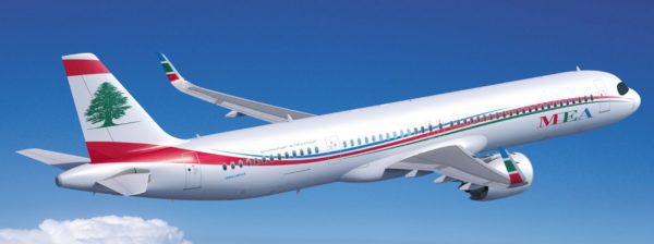 MEA converts 4 previously unannounced A321 orders to A321XLR