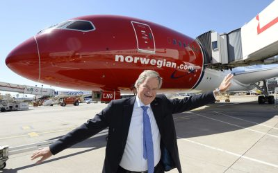 'Mr. Norwegian' Bjorn Kjos bows out as CEO