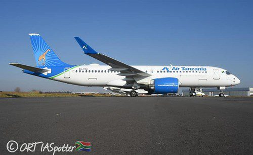 South African court releases Air Tanzania A220