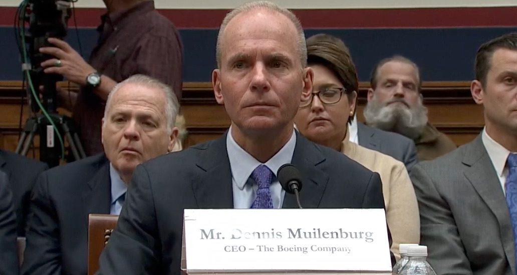 Insight: Saturday 9 November 2019: Crocodile Tears for Muilenburg's Bonus