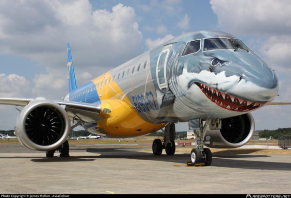 Embraer Honored by Project Management Institute for E190-E2